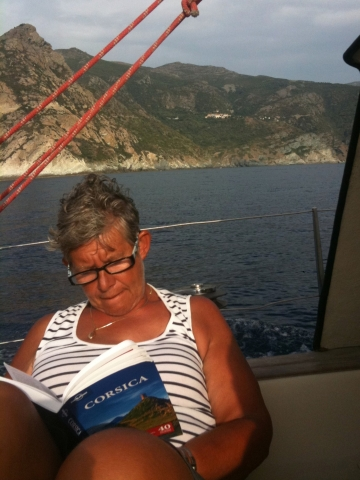 eiland ten zuiden van corsica